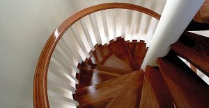 Boston Stair - Wood Spiral Stairs and Stair Design in Boston, MA